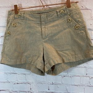 Banana Republic Factory Linen Blend Shorts